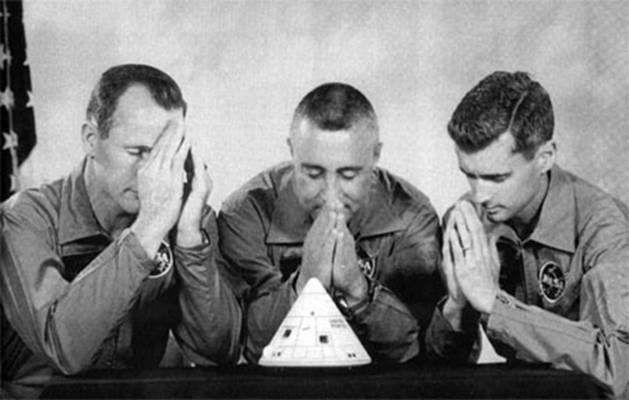 apollo 1 crew pray