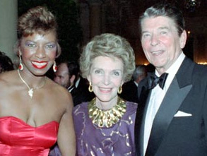 Natalie Cole Ronald Reagan