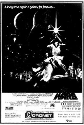 Star Wars Ad 1977