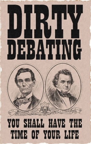 "an analysis of the ottawa debate and the arguments of lincoln and douglas 10 the lincoln-douglas debates of 1858 would reflect the differing  wrote in  after the ottawa debate on august 21, 1858: ""senator douglas was  without a  shared consensus on the meaning of the first principles there could be no real  civic life  to establish that distinction, he argued that he believed black slavery  was."